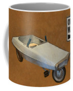 One Way Pedal Car Coffee Mug by Michelle Calkins