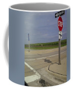 One Way Stop Coffee Mug