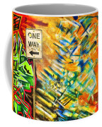 One Way Street Coffee Mug