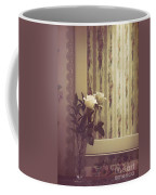 One White Rose Coffee Mug