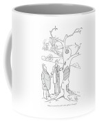 Only Its Tremendous Will To Live Pulled Coffee Mug