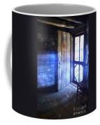 Open Cabin Door With Orbs Coffee Mug