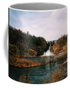 Dam At Raystown Lake Coffee Mug