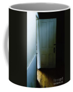 Open Door In Dark Hall Coffee Mug