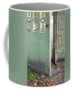 Open Garden Gate Coffee Mug