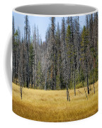 Open Meadow Glacier National Park Coffee Mug