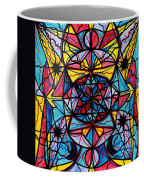 Open To The Joy Of Being Here Coffee Mug by Teal Eye  Print Store