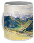 Open Valley. Dolomites Coffee Mug