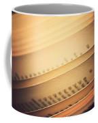 Open Vintage Book Coffee Mug