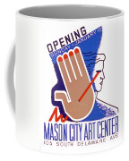 Opening Of Mason City Art Center Poster Coffee Mug