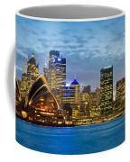 Opera House And Buildings Lit Coffee Mug
