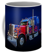 Optimus Prime Blue Coffee Mug