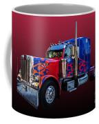 Optimus Prime Red Coffee Mug