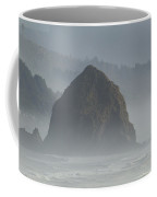 Or Coast Ecola Haystack Rock 1 A Coffee Mug