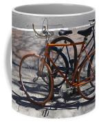 Orange And Blue Bikes Coffee Mug