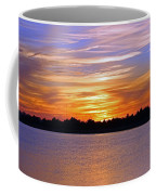 Orange And Blue Sunset Coffee Mug