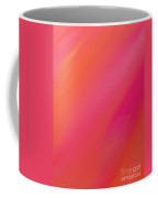 Orange And Raspberry Sorbet Abstract 1 Coffee Mug