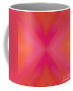 Orange And Raspberry Sorbet Abstract 6 Coffee Mug