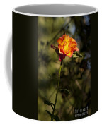 Orange And Yellow Rose Coffee Mug