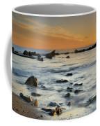 Orange At Sunset Coffee Mug by Guido Montanes Castillo