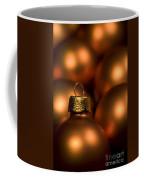 Orange Baubles Coffee Mug by Anne Gilbert