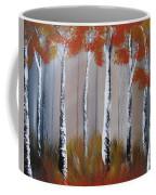 Orange Birch One Piece Coffee Mug