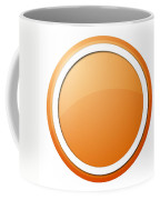 Orange Button Coffee Mug