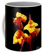 Orange Cannas Coffee Mug