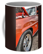 Orange Chevelle Ss 396 Coffee Mug