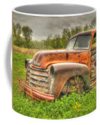 Orange Chevy Coffee Mug