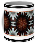 Orange Chocolate Trio - Kaleidoscope - Triptych Coffee Mug