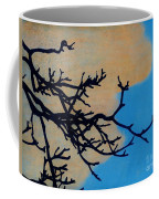 Orange Clouds Coffee Mug