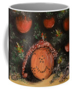 Orange Clover Christmas Coffee Mug