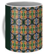 Orange Day Lily Design Coffee Mug
