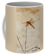 Orange Dragonfly Coffee Mug