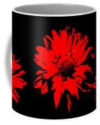 Orange Flower Burst  Coffee Mug