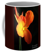 Orange Flower Canna Coffee Mug