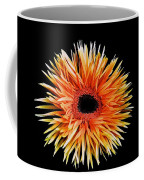 Orange Flower  Coffee Mug