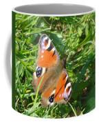 Orange Flutter Coffee Mug