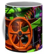 Orange Gear Coffee Mug
