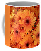 Orange Gerbera Daisies Coffee Mug