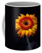 Orange Graphic Mum Coffee Mug
