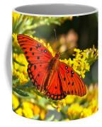 Orange Gulf Fritillary Coffee Mug