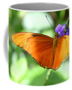 Orange Julia Butterfly Coffee Mug