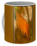 Orange Leaves Of Fall Coffee Mug