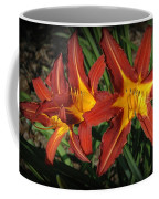 Orange Lillies Coffee Mug
