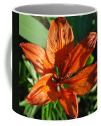 Orange Lilly Coffee Mug
