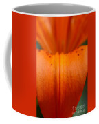 Orange Lily Coffee Mug
