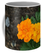 Orange Marigolds   # Coffee Mug