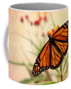 Orange Mariposa Coffee Mug